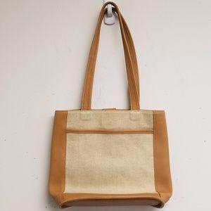 Coach Bags - Coach Tan Snap Closure Tote Bag